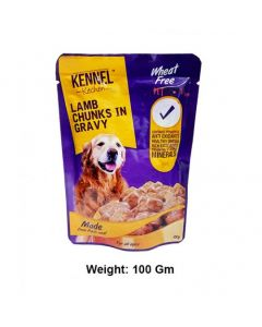 KENNEL KITCHEN Lamb Chunks 100 Gm