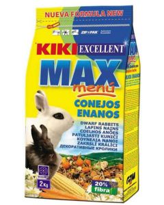 Kiki Max Menu Rabbit Food Dwarf 2 Kg