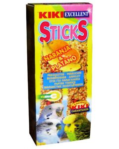 Kiki Bird Treats Budgerigar Orange Stick 60 gm