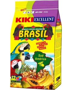 Kiki Excellent Brazil Parrot Food 800 gm