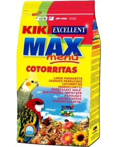 Kiki Excellent Max Menu Cotorritas For Large Parakeet Food 1 Kg