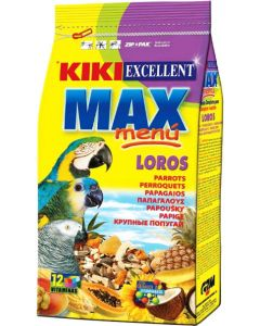 Kiki Excellent Max Menu Food For Parrot 800 gm