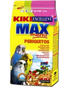 Kiki Excellent Max Menu Budgerigar Food 400 gm