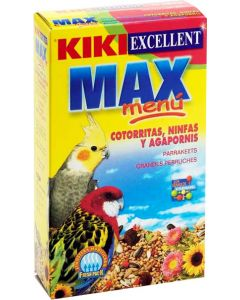Kiki Food Cockatiel, Parakeet and Love Birds 400 gm