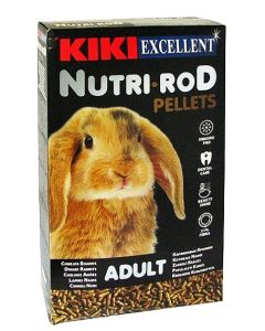 Kiki Excellent Nutri Rod Pellets Rabbit Food 1kg