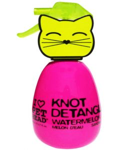 Pet Head Cat Knot Detangler Watermelon 180 ml