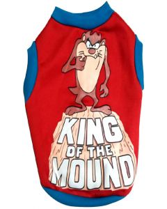 "Dog Tshirt ""KING OF THE MOUND"" 14 inches"