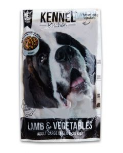 Kennel Kitchen Lamb & Vegetables Gravy Dog Food Foe Adult Large Breed 500 gm
