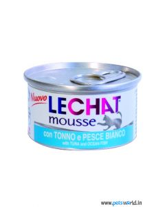 Lechat Mousse with Tuna And Ocean Fish Cat Can Food 85g