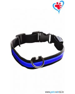 Petsworld LED Dog Collar - Blue