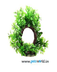 Aqua Geek Fish Aquarium Resin Plant - Leaf Gate
