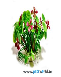 Aqua Geek Aquarium Imitation Plant - Water Lillies