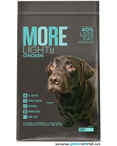 More Light Adult Dog Food 2 Kg
