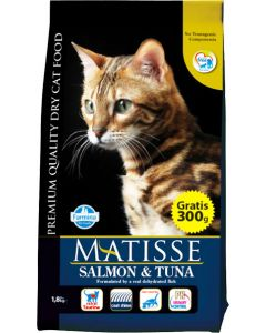 Farmina Matisse Adult Cat Food Salmon and Tuna 1.5 Kg