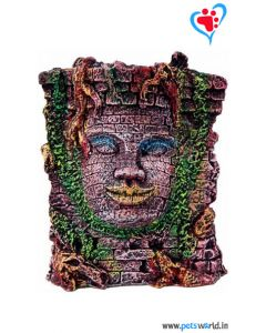 Aqua Geek Aquarium Decoration Mayan Head