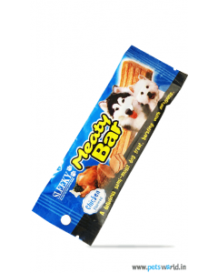 Sleeky Meaty Bar Chicken Flavored Dog Treats 30 gm