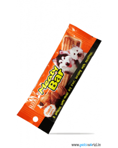 Sleeky Meaty Bar Cheese Flavored Dog Treats 30 gm
