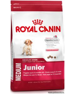 Royal Canin Medium Junior Dog Food 4 Kg