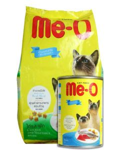 PetsWorld Me-O Cat Food Chicken and Veg 7 Kg New Year Special Combo