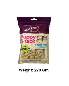 Gnawlers V-Lucky Bone (Milk) 270gm