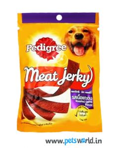 Pedigree Dog Treats Meat Jerky Roasted Lamb 80 gms