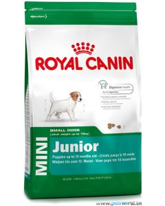 Royal Canin Mini Junior Dog Food 4 Kg