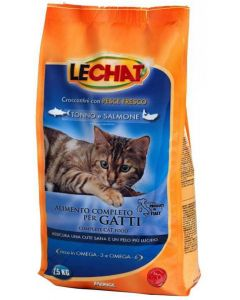 Lechat Tuna And Salmon Cat Food 1.5 Kg