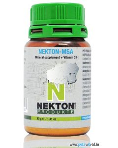 Nekton-MSA Mineral Supplement Vitamin D3 For Birds And Reptilles 40 gms