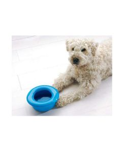 Savic Drinking Water Dog Bowl With Non Splash Rim L x W x H : 8.8 x 8.8 x 2.9 inch