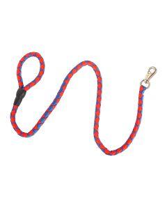 Petsworld Quality Nylon Rope Leash for Dog Blue Red