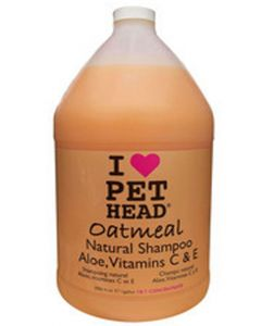 Pet Head Oatmeal Natural Dog Shampoo 3.8 Ltr