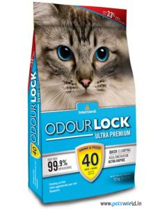 Intersand Odourlock Cat Litter 12 kg