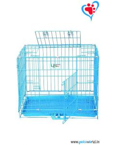 PetsWorld Medium Dog Cage (LxBxH : 24x18x18)