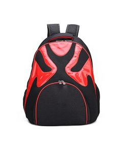 Petsworld Airline Approved Soft Side Opera Mask Travel Backpack Red for Pets