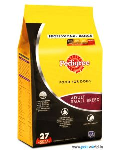 Pedigree Professional Adult Small Breed Dog Food 3 Kg
