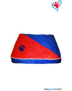DOGEEZ Paw Mark Rectangular Dog Bed