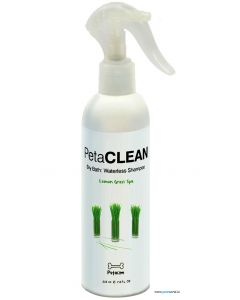 PetaCLEAN Lemon Grass Spa Waterless Shampoo 225 ml