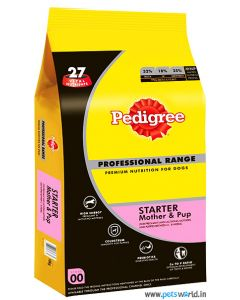 Pedigree Professional Starter and Weaning Dog Food 10 Kg