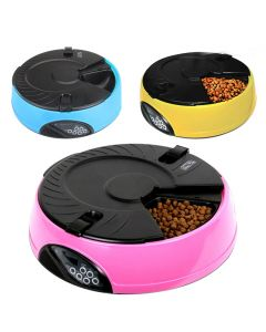 PETS BRAND Colours Auto Food Feeder 1.5 L