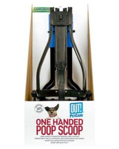 PETS BRAND One Handed Poop Scoop