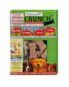 Pet Lovers Crunch Vegetable Biscuits 900 gms
