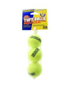 PETSPORT Tuff Ball Suqeak 3Pk 7 Cm