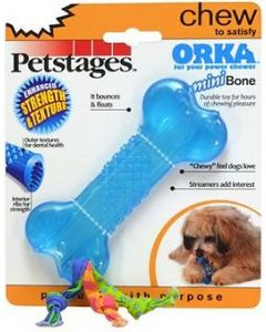 PETSTAGES ORKA New Hide Dog Chew Toy M 11 Cm
