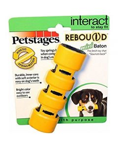 PETSTAGES ORKA Rebound Baton Medium 16 Cm