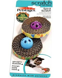 PETSTAGES ORKA Spin & Scratch