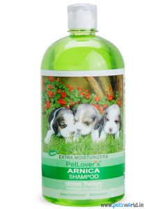 Pet Lovers Arnica Dog Shampoo 1 Ltr