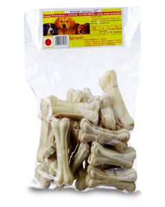 "Pet Lovers Pressed Calcium Bone 4"" x 1 Kg"