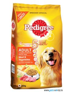 Pedigree Adult Meat And Vegetables Dog Food 20 Kg