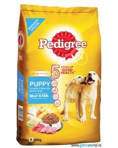 Pedigree Puppy Meat and Milk Dog Food 20 Kg