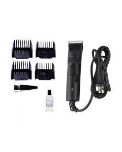 Petsworld Professional Automatic Rechargeable Pet Hair Trimmer With Extra Battery For Dog (S-1 BLACK)